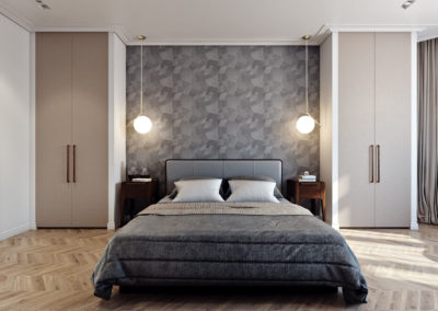 Interior 3D Renderings Bedroom Example Image 3