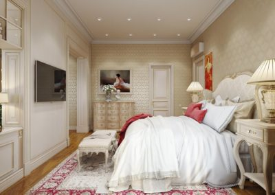Interior 3D Renderings Example Image Bedroom 5