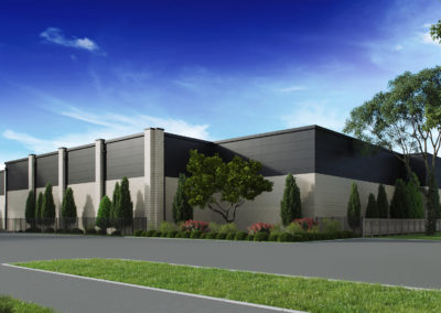 Exterior 3D Renderings Storage Facility 3