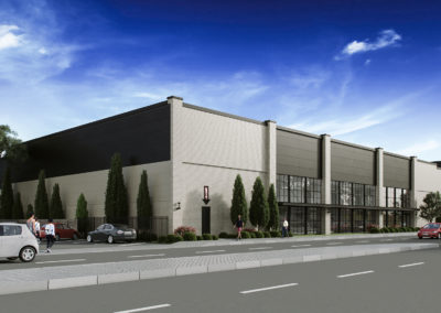 Exterior 3D Renderings Storage Facility 4
