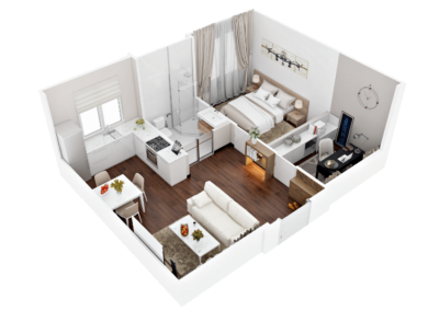 3d floor plan png